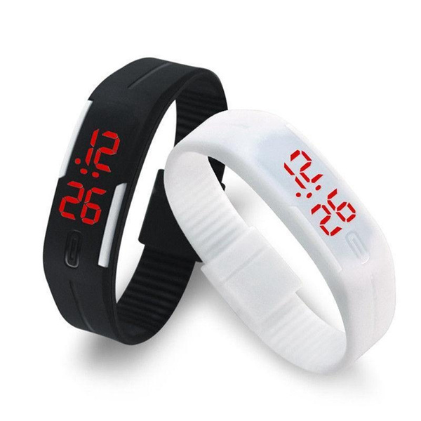 LED Watch, Sport, students watch, Clock