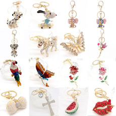 Charm, Key Chain, Jewelry, Crystal