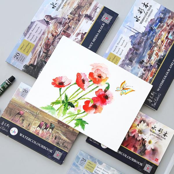 Art Supplies, Paper, watercolorpaper, paintingpaper
