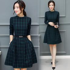 Skirts, thenewstyleofautumnandwinter, fashion dress, Dress