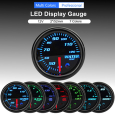 led, Cars, watertempgauge, voltgauge