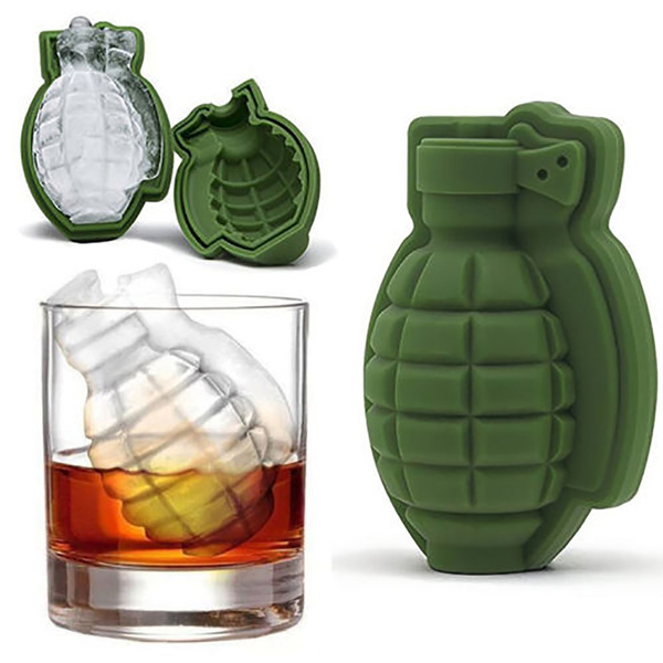 grenadeicemold, icecubemold, Gifts, Army