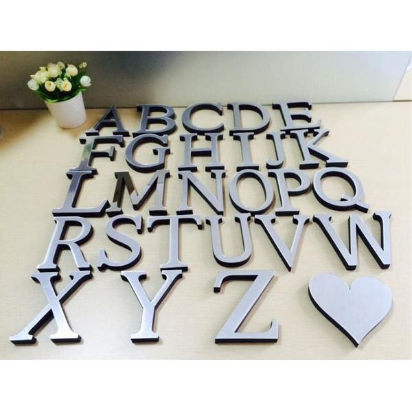 Decor, windowsticker, alphabetsticker, art