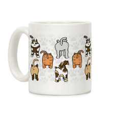 Coffee, catsmug, catpattern, Ceramic