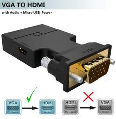 Mini, projector, Hdmi, vgatohdmiadapter