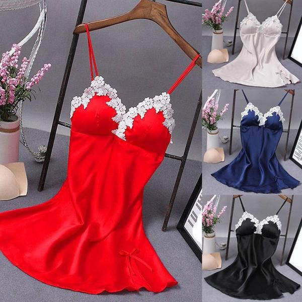 night dress, Underwear, Fashion, Lace