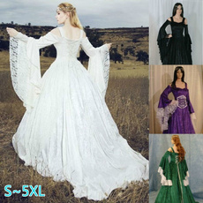 gowns, Goth, Medieval, fantasy