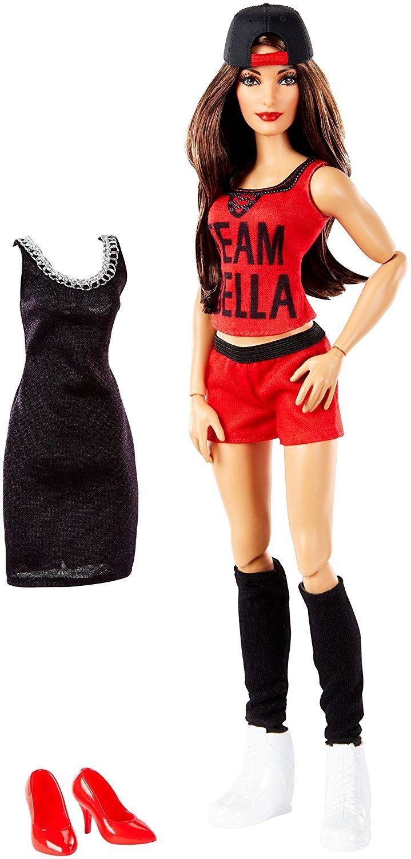 WWE~ NIKKI BELLA WHITE SNEAKERS SUPERSTARS DIVAS WRESTLERS DOLL ACCESSORY SHOES