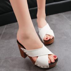 Shoes, Rubber, Head, Sandals