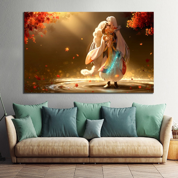 Decor, Wall Art, Gifts, inuyasha