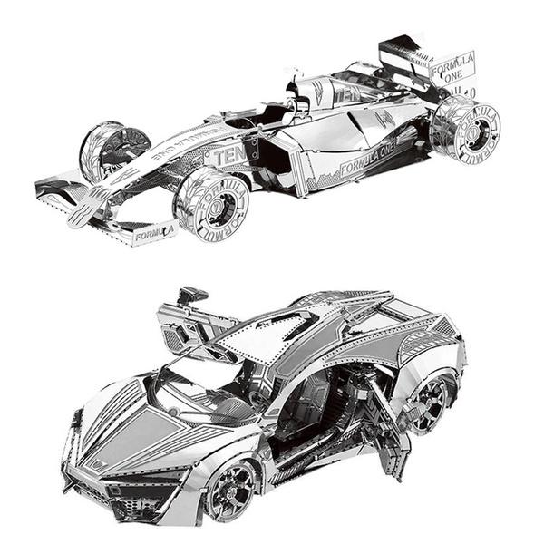 Jigsaw, 3dassemblemodel, Laser, formulacar