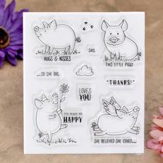 Card, cute, scrapbookingamppapercraft, Stamps