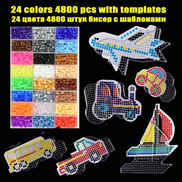 Plastic, Bead, Paper, puzzel