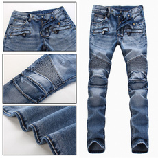 Plus Size, Men, pants, distressed