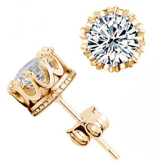 goldplated, Sterling, crown, Fashion