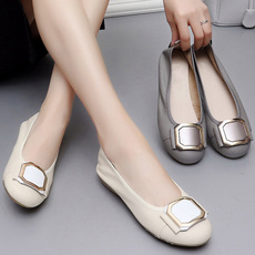 Summer, Ballet, Genuine, Flats