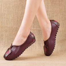 Flats, Style, Genuine, Color