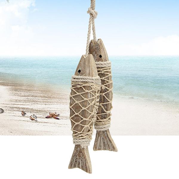 fishtoy, Decor, nauticaldecor, fishcarved