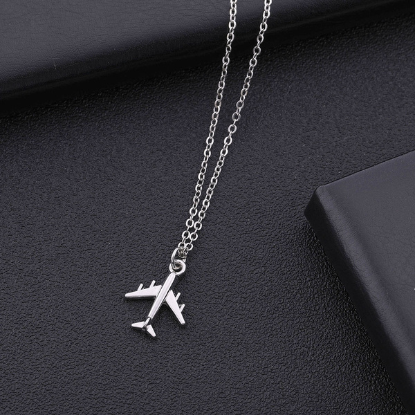 airplanenecklace, Men  Necklace, Jewelry, women necklace