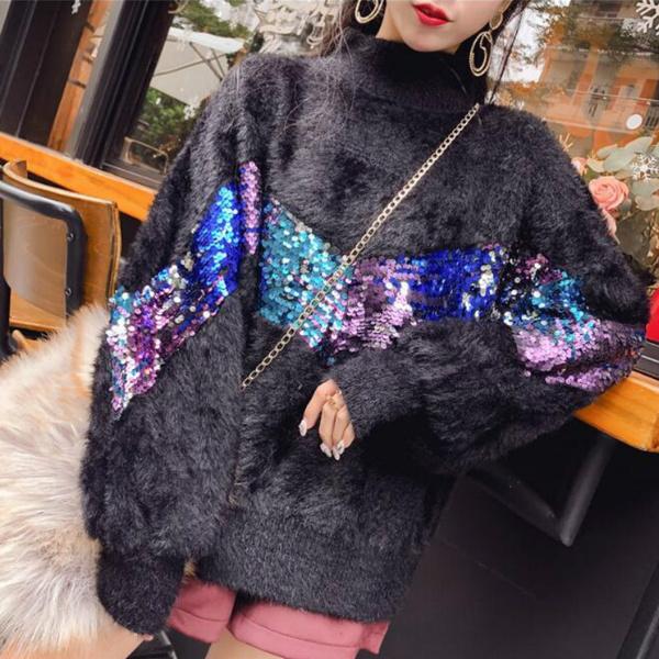 women pullover, womenmohairblouse, Women Sweater, knitted