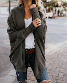 Jacket, woman fashion, Plus Size, Knitting