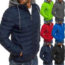 lightweightraincoat, Jacket, Plus Size, pufferjacketwithhoody