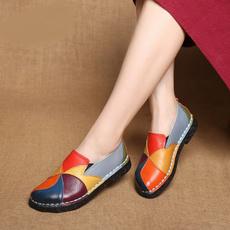 Flats, Style, Woman, Genuine