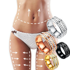 Steel, womenslimming, Jewelry, Crystal