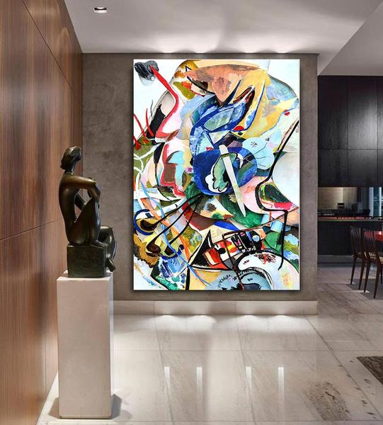 Pictures, Decor, Oil, art