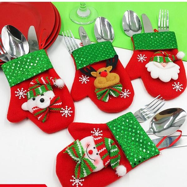 Decor, tablewarebag, Christmas, tablewareholder