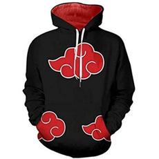 3D hoodies, Casual Hoodie, akatsuki, narutosweatshirt