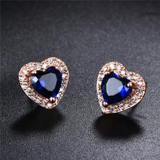 18 k, Heart, DIAMOND, Sapphire