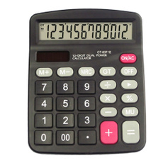 12digit, financial, Office, calculator