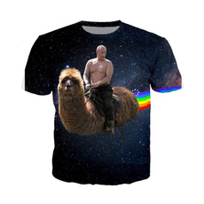rainbow, putin, alpaca, Sleeve