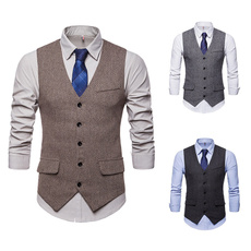 Vest, Slim Fit, Tuxedos, Dress