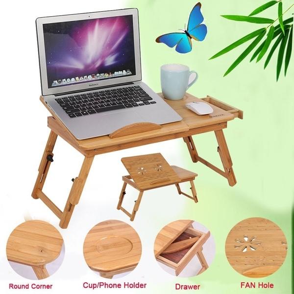 Fashion, bamboodesk, Furniture, Laptop