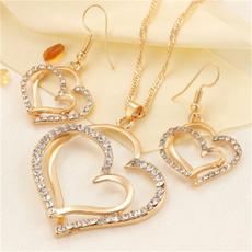 Heart, Silver Jewelry, Fashion, Princess