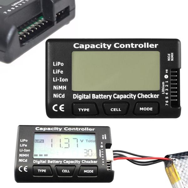 Capacity, batterycapacitychecker, batteryvoltagecheckertester, Battery