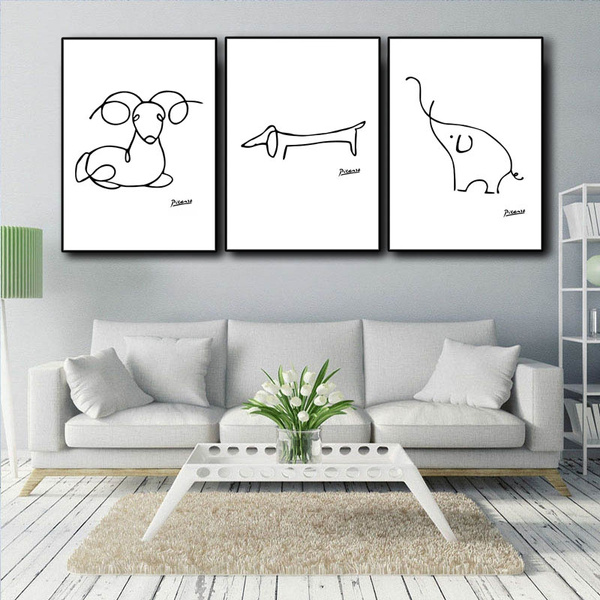 Wall Art, Home Decor, Black And White, Posters