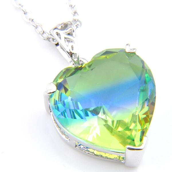 tourmalinenecklace, Blues, Jewelry, silver925pendantstone