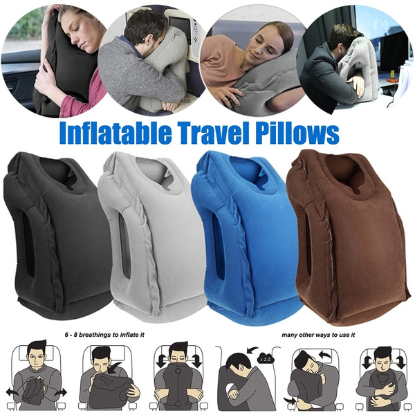 portablepillow, Inflatable, trip, inflatablecushionpillow