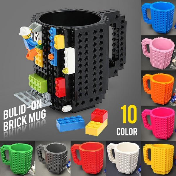 legominifigure, brushcupholder, Coffee, Cup