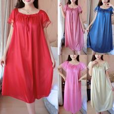 Summer, nightwear, Plus Size, Lace