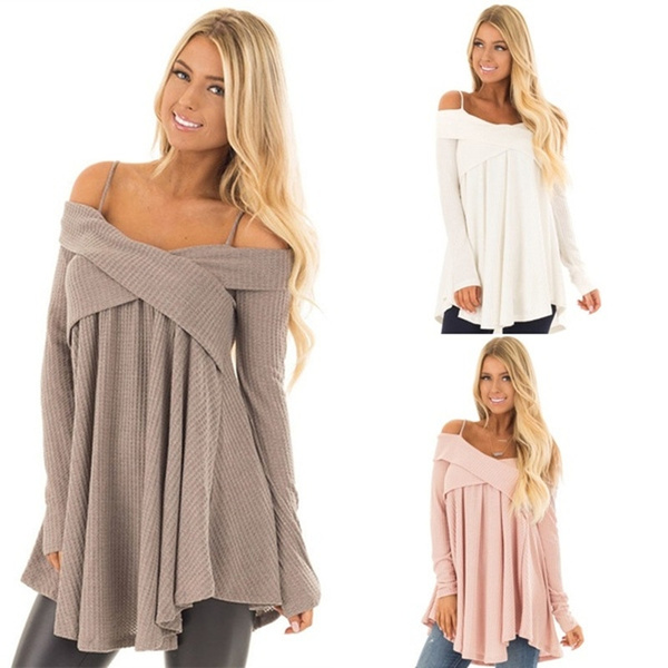 Fashion, off the shoulder top, Sleeve, Long Sleeve