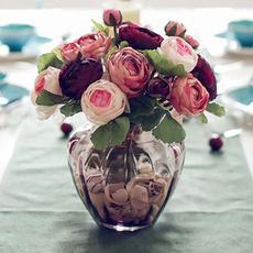 autumnrose, peony, Bouquet, partyfestivaldecoration