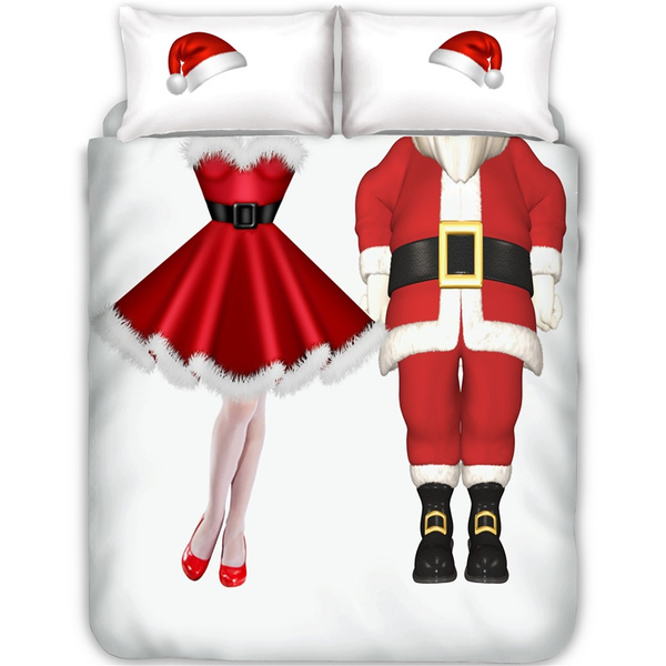 queensizebeddingset, Decor, kingsizebedding, Santa Claus