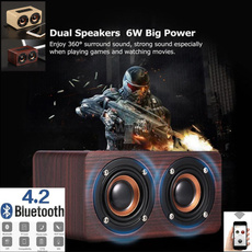 Wood, musicbox, Bass, Mini Speaker