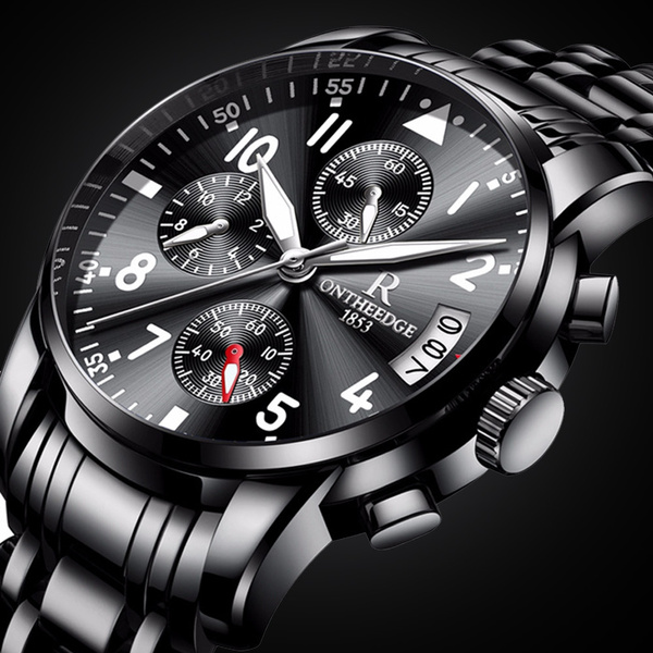 Chronograph, datedisplaywatch, Casual Watches, Waterproof