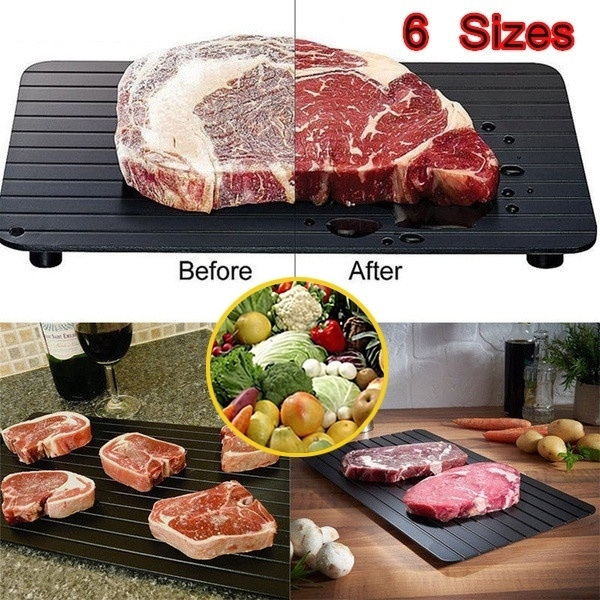 Defrost Tray Food Meat Pork Thaw Frozen in Minutes Kitchen Defrosting Tools