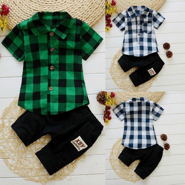 kidsboy, plaid, kids clothes, Shirt